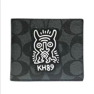 Coach Bags - COACH KEITH HARING 3 IN 1 SIGNATURE MEN'S WALLET